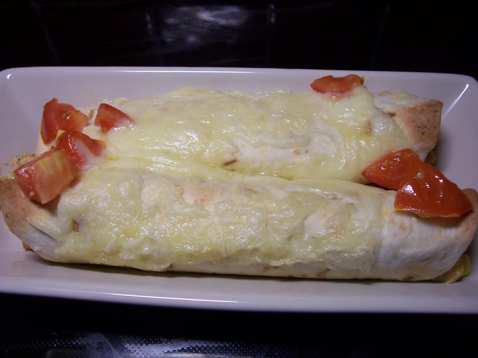 Vegetarisk tortilla