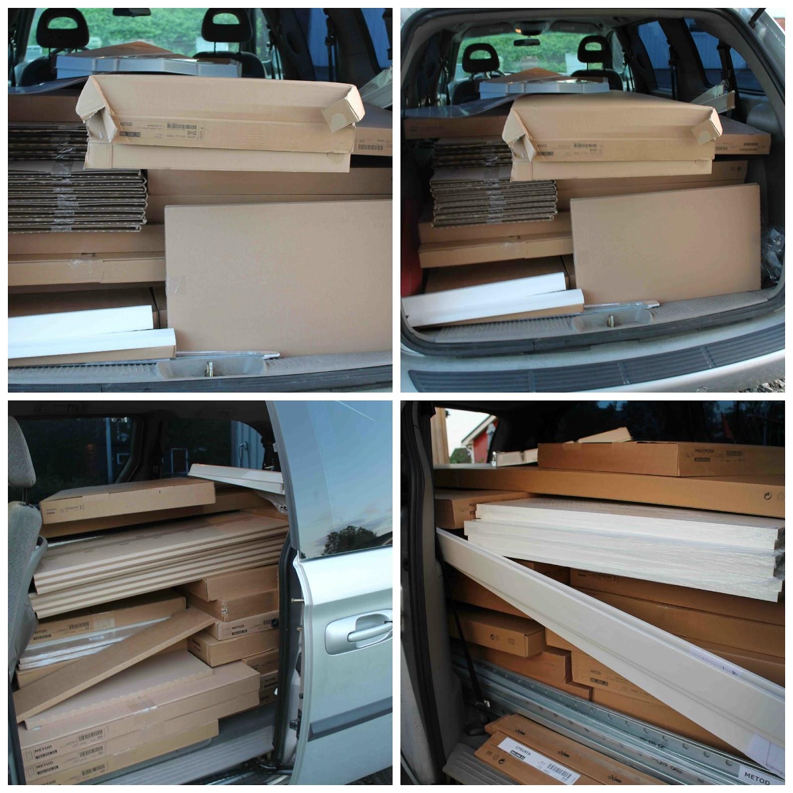 Full bil från Ikea