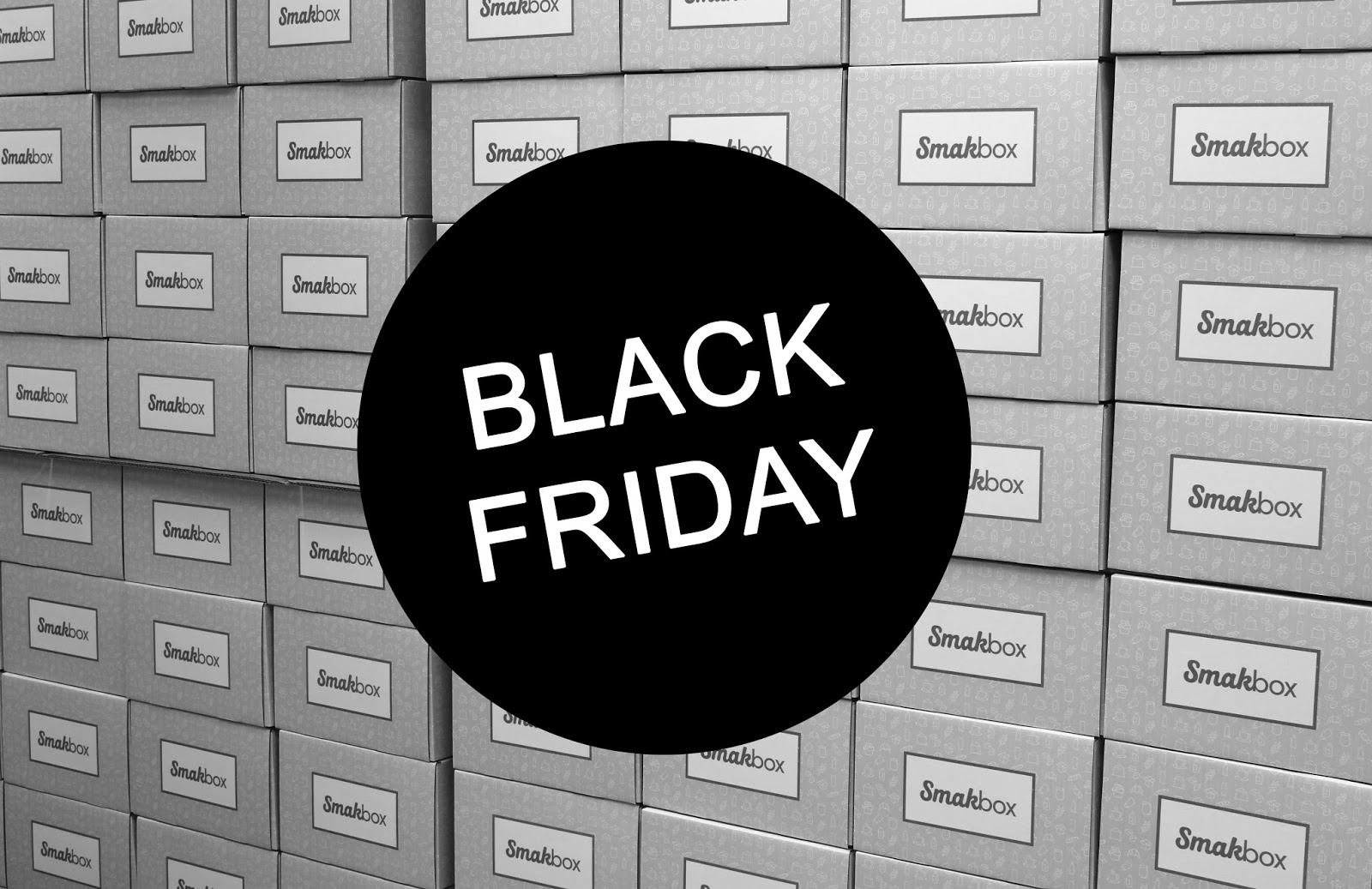 Smakbox har Black Friday