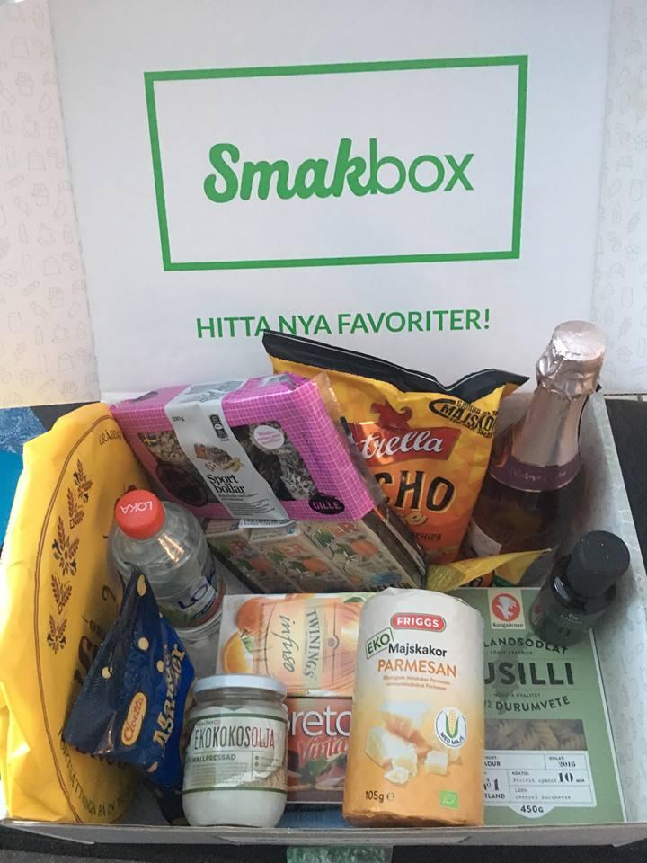 Smakbox 2 år – Erbjudande