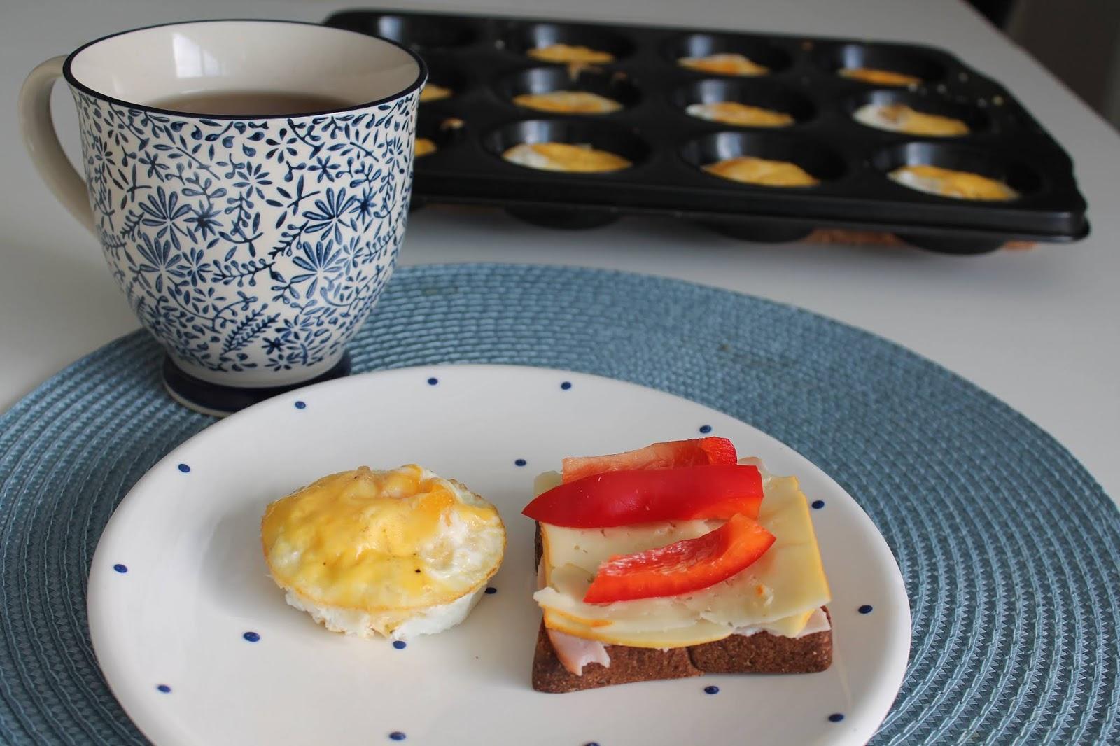 Enkla äggmuffins